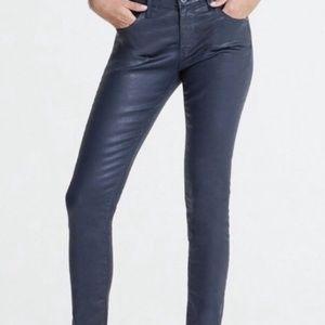 AG leatherette Legging Ankle